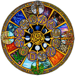 Zodiac Elements Wheel